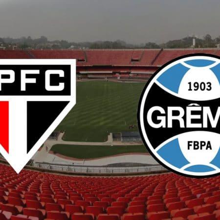 Apostas São Paulo x Grêmio Brasileirão 17/10/2020