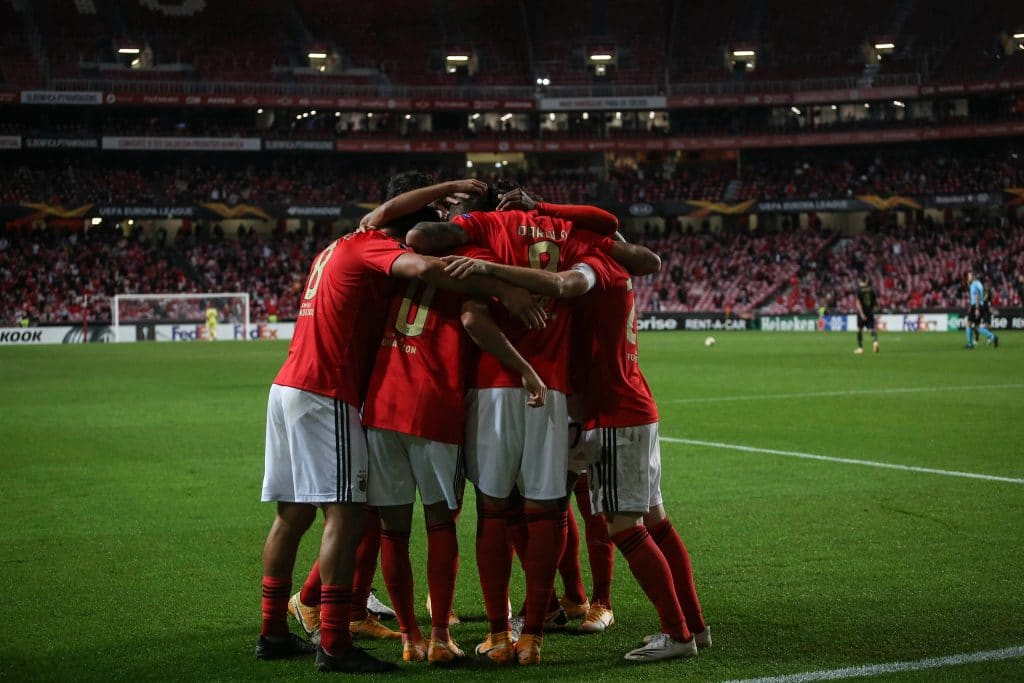 Apostas Benfica x Braga
