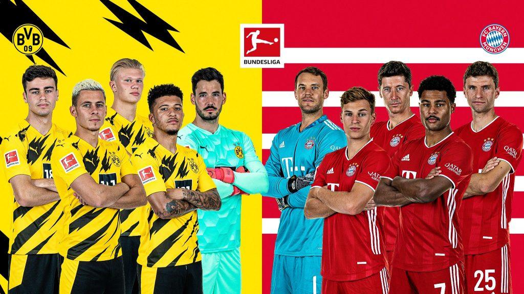 Apostas Dortmund x Bayern