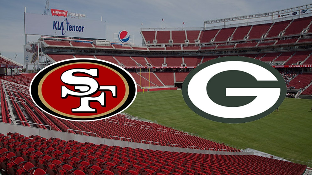 Apostas 49ers x Packers NFL 05/11/2020