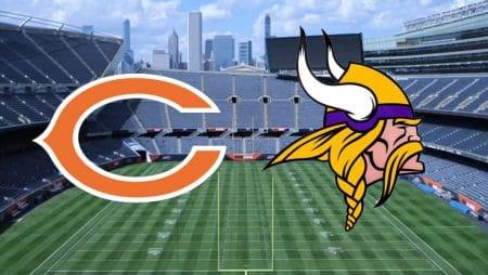 Apostas Bears x Vikings NFL 16/11/2020
