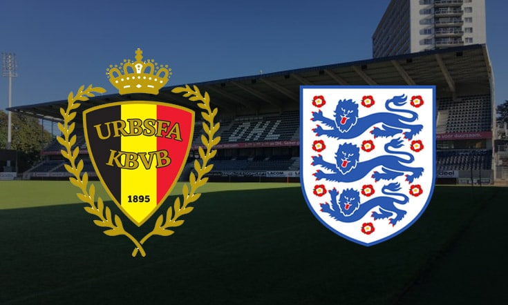 Apostas Bélgica x Inglaterra Nations League 15/11/2020
