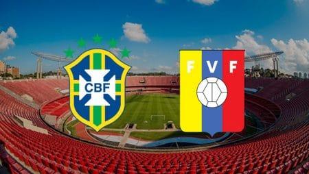 Apostas Brasil x Venezuela Eliminatórias Copa do Mundo 13/11/2020