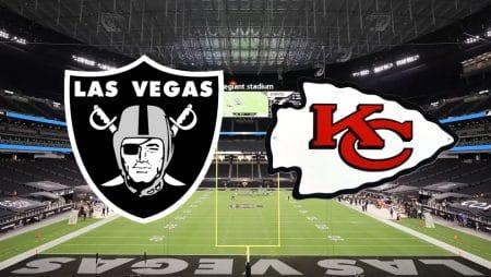 Apostas Raiders x Chiefs NFL 22/11/2020
