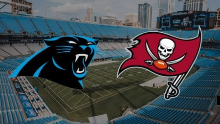 Apostas Panthers x Buccaneers NFL 15/11/2020