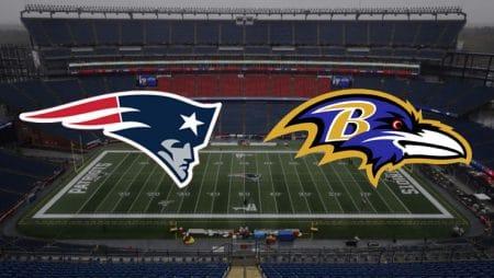 Apostas Patriots x Ravens NFL 15/11/2020
