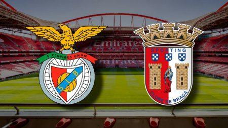 Apostas Benfica x Braga Campeonato Português 08/11/2020