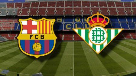 Apostas Barcelona x Real Betis La Liga 07/11/2020