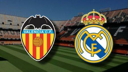 Apostas Valencia x Real Madrid La Liga 08/11/2020