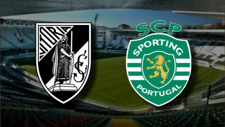 Apostas Vitória de Guimarães x Sporting Campeonato Português 07/11/2020