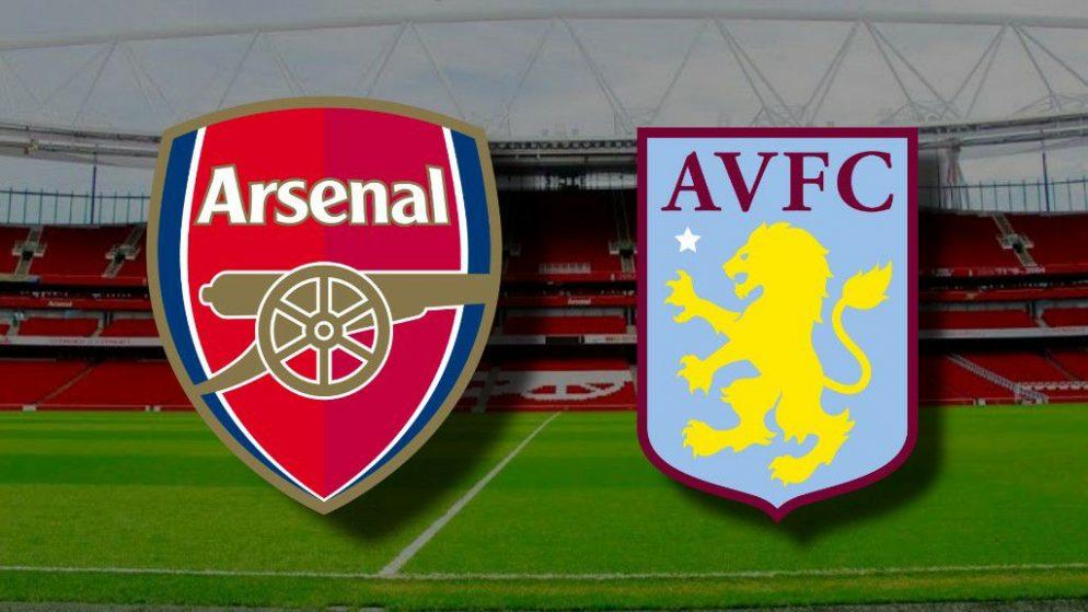 Apostas Arsenal x Aston Villa Premier League 08/11/2020