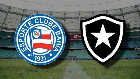 Apostas Bahia x Botafogo Brasileirão 08/11/2020