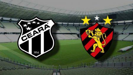 Apostas Ceará x Sport Brasileirão 08/11/2020