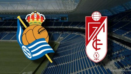 Apostas Real Sociedad x Granada La Liga 08/11/2020