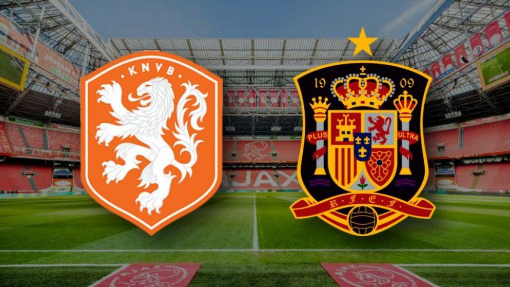 Apostas Holanda x Espanha Amistosos Internacionais 11/11/2020