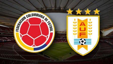 Apostas Colômbia x Uruguai Eliminatórias Sul-Americanas 13/11/2020