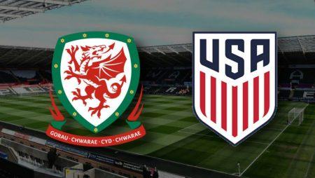 Apostas País de Gales x EUA Amistoso Internacional 12/11/2020