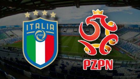 Apostas Itália x Polônia Nations League 15/11/2020