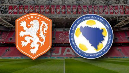 Apostas Holanda x Bósnia & Herzegovina Nations League 15/11/2020