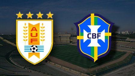 Apostas Uruguai x Brasil Eliminatórias Sul-Americanas 17/11/2020