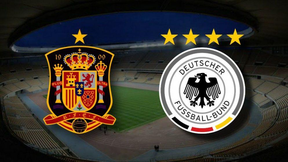 Apostas Espanha x Alemanha Nations League 17/11/2020