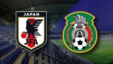 Apostas Japão x México Amistosos Internacionais 17/11/2020