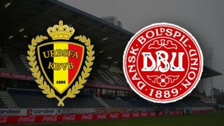 Apostas Bélgica x Dinamarca Nations League 18/11/2020