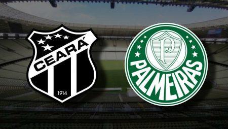Apostas Ceará x Palmeiras Copa do Brasil 18/11/2020