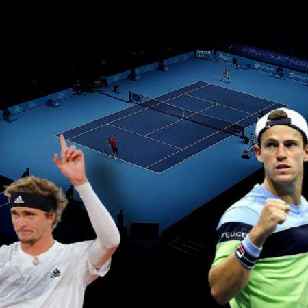 Apostas Alexander Zverev x Diego Schwartzman ATP World Tour Finals 18/11/2020