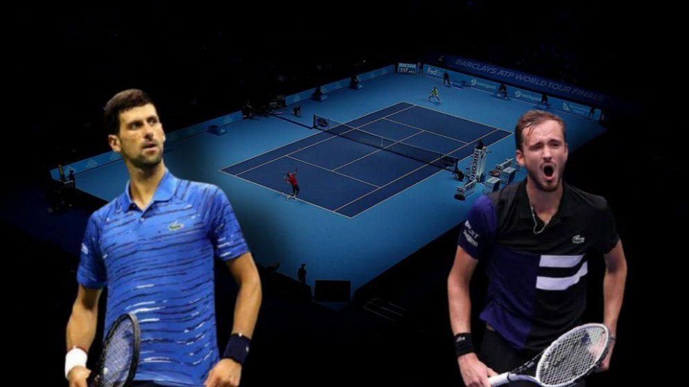 Apostas Novak Djokovic x Daniil Medvedev ATP World Tour Finals 18/11/2020