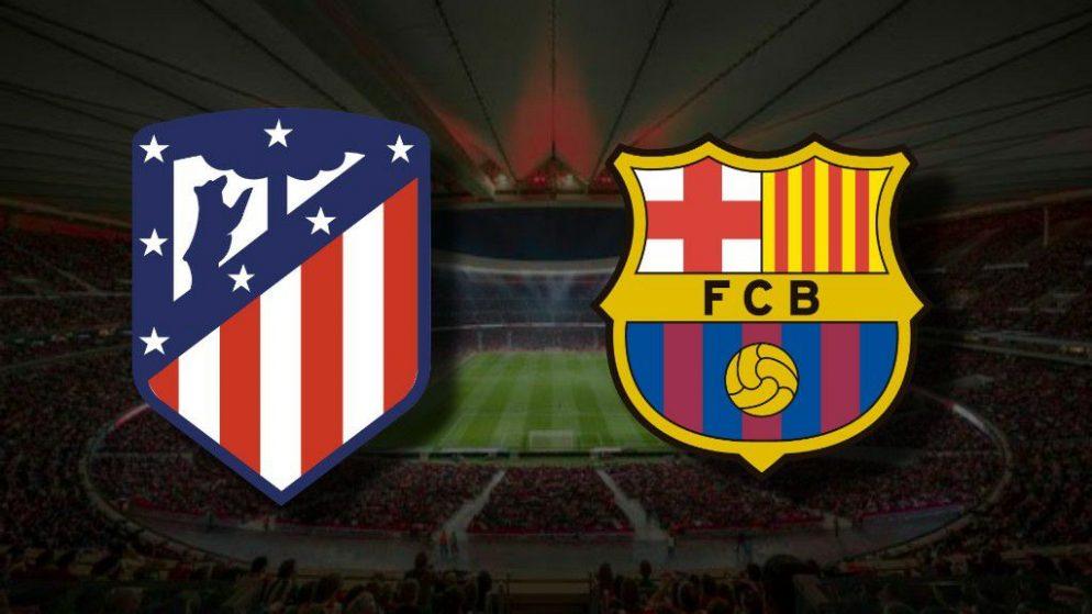 Apostas Atlético de Madrid x Barcelona La Liga 21/11/2020