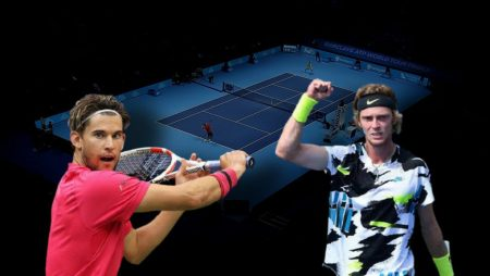 Apostas Dominic Thiem x Andrey Rublev ATP World Tour Finals 19/11/2020