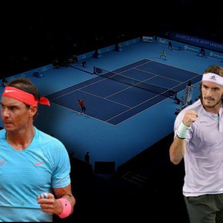 Apostas Rafael Nadal x Stefanos Tsitsipas ATP World Tour Finals 19/11/2020