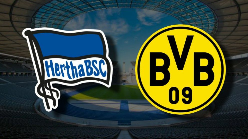 Apostas Hertha Berlin x Borussia Dortmund Bundesliga 21/11/2020