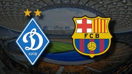 Apostas Dínamo de Kiev x Barcelona Liga dos Campeões 24/11/2020