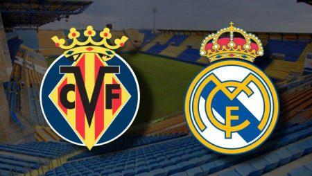 Apostas Villarreal x Real Madrid La Liga 21/11/2020