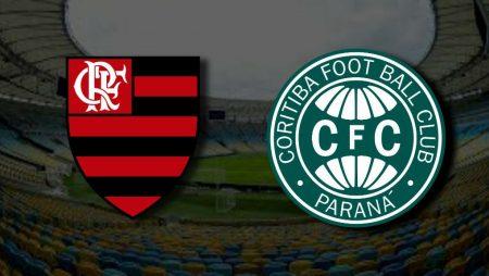Apostas Flamengo x Coritiba Brasileirão 21/11/2020
