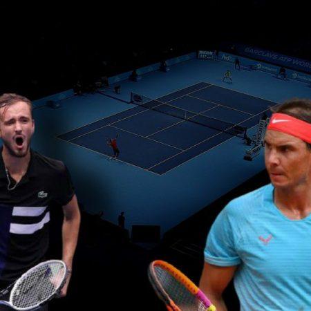 Apostas Daniil Medvedev x Rafael Nadal ATP World Tour Finals 21/11/2020