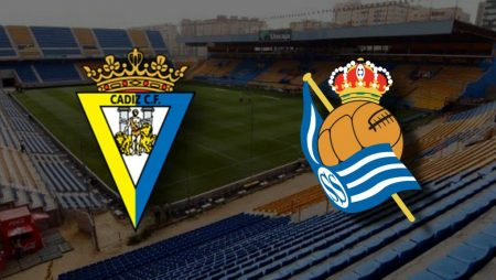 Apostas Cádiz x Real Sociedad La Liga 22/11/2020