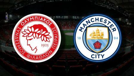 Apostas Olympiakos x Manchester City Liga dos Campeões 25/11/2020