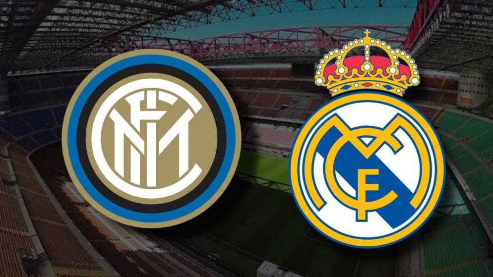 Apostas Inter de Milão x Real Madrid Liga dos Campeões 25/11/2020