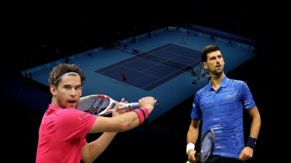 Apostas Dominic Thiem x Novak Djokovic ATP World Tour Finals