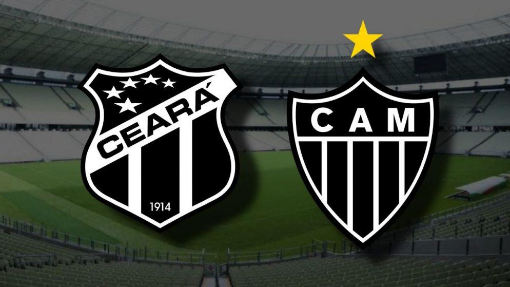 Apostas Ceará x Atlético Mineiro Brasileirão 22/11/2020