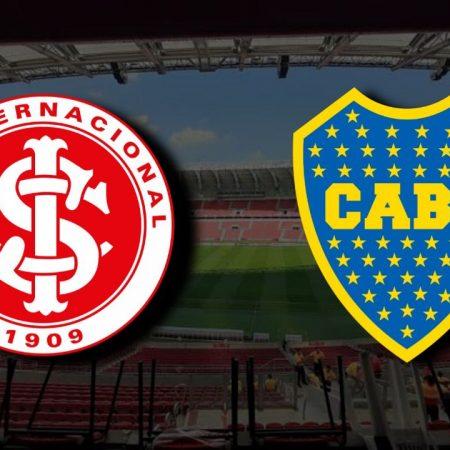 Apostas Internacional x Boca Juniors Libertadores da América 25/11/2020