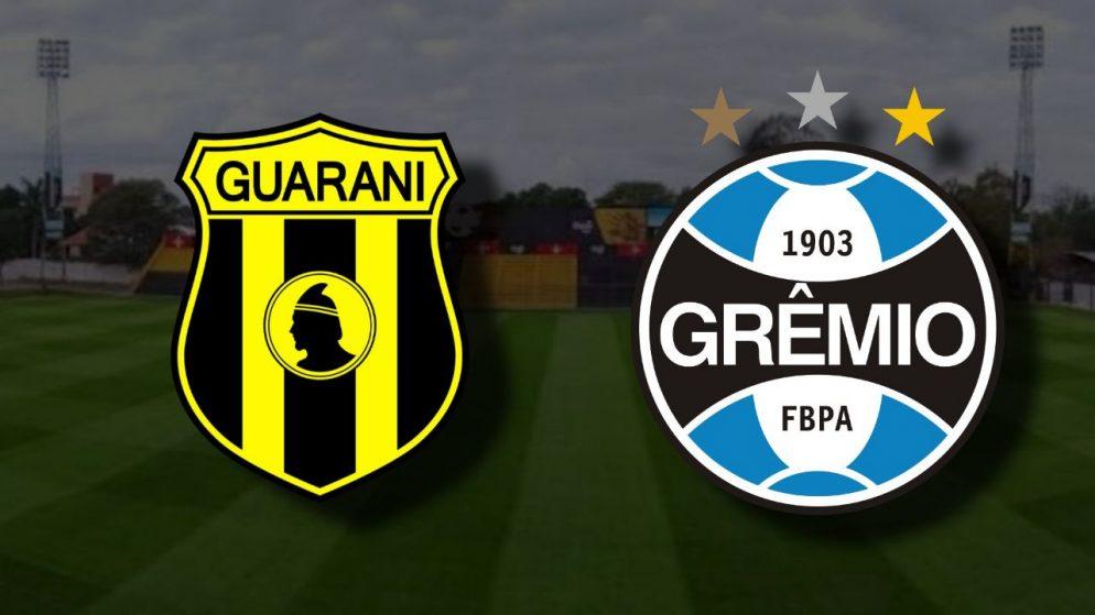 Apostas Guaraní x Grêmio Libertadores da América 26/11/2020