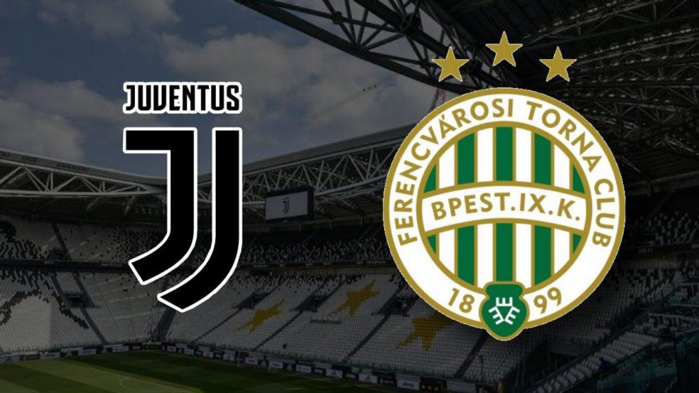 Apostas Juventus x Ferencváros Liga dos Campeões 24/11/2020