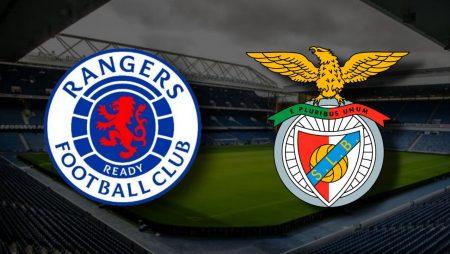 Apostas Rangers x Benfica Liga Europa 26/11/2020