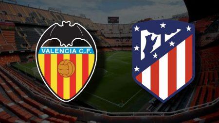 Apostas Valencia x Atlético de Madrid La Liga 28/11/2020