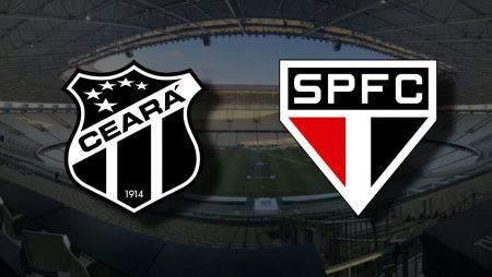 Apostas Ceará x São Paulo Brasileirão 25/11/2020