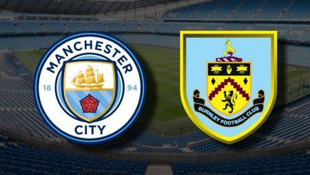 Apostas Manchester City x Burnley Premier League 28/11/2020